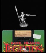 Reaper Miniatures 25mm/28mm Fantasy 03015 Maera, Female Elf Warrior